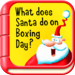 pocket story - What does Santa do on Boxing Day?
